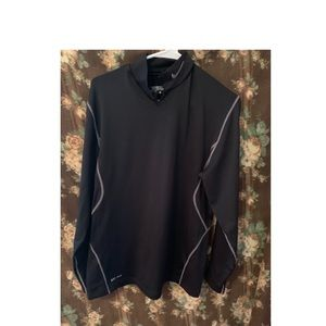 Nike golf tour sweater pullover black